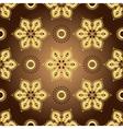 Vintage brown seamless pattern vector image vector image
