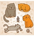 cute cats vector image