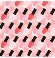 Nail lacquer or nail polish seamless pattern vector image
