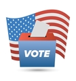 United States Election Vote sign vector image
