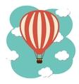 hot air ballon icon vector image