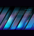 abstract metal background in cyan and violet color vector image vector image