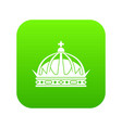 Crown icon digital green