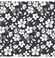 elegance floral summer or spring pattern template vector image vector image
