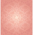lace background ornamental pink flowers template vector image vector image