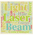 Lasers The New Mythical Gift Of Fire text vector image vector image