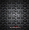 Metallic pattern abstract background vector image vector image
