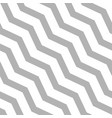 seamless diagonal zigzag pattern - linear vector image vector image