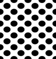seamless with black dots vector image vector image