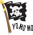Yo Ho Ho vector image vector image