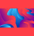 abstract background with dynamic effect vector image vector image