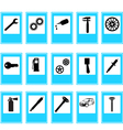auto car repair service icons vector image