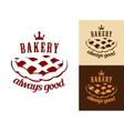 bakery food symbol vector image