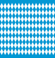 bavarian flag seamless pattern vector image vector image