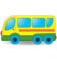 Bus toy vector image vector image