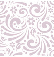floral seamless background for presentations vector image