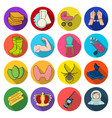 leisure business trade and other web icon in vector image vector image
