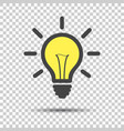 Light bulb line icon isolated on isolated