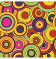 Psy circles patt 1200 vector image