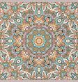 vintage ethnic festive luxury floral vector image vector image