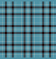 black blue and white plaid tartan flannel shirt vector image