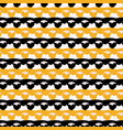 1960s style lace ribbon trim stripes seamless vector image vector image