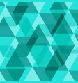 Abstract green geometric template background