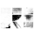 halftone texture set vector image