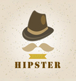 hipster element vector image vector image