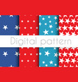 independence day pattern vector image vector image