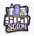 logo for spa salon vector image