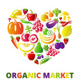LoveOrganic vector image vector image