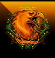 phoenix sport mascot logo design vector image vector image