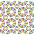 Retro music disc background vector image
