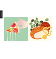 simple things - meal vector image vector image