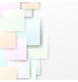 Calm semitone halftone squares background vector image vector image