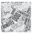Dogs And Pets Provide Health Benefits text vector image vector image