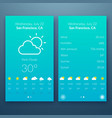 flat ui light design concept vector image