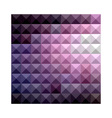 Russian Violet Abstract Low Polygon Background vector image vector image