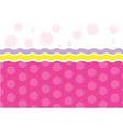 Template design for greeting card vector image