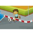 Traffic danger vector image vector image