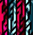 vintage crystal geometric seamless pattern vector image vector image