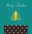 christmas calligraphic design christmas vector image