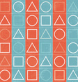abstract geometric game signs seamless texture vector image