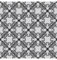 Black seamless pattern vector image vector image