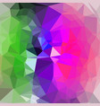 bright polygon background vector image vector image