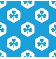Clover hexagon pattern vector image vector image