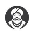 hindu india cartoon vector image vector image