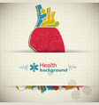 human organs concept vector image