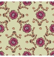 Abstract berries floral seamless pattern vector image vector image